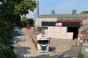 Salvatori artic delivery to builders merchants