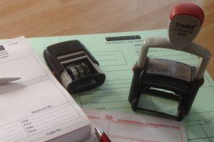 Customs documents