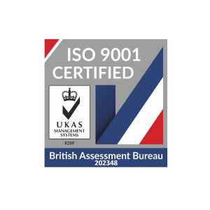 ISO9001 Logo. ISO9001 accreditation.
