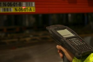 storage pallet scanning